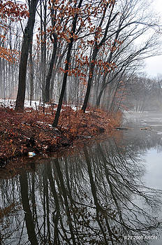 Winter On Farrington Lake by Aron