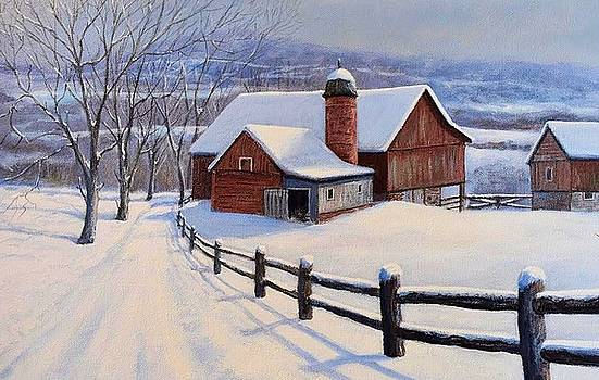 Winter On The Farm by William H RaVell III