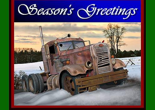 Winter Pete Season's Greetings by Stuart Swartz