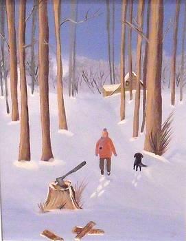 Winter pleasures by Djl Leclerc