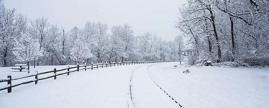 Winter Rail Galena Illinois by Steve Gadomski