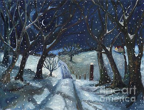 Winter Road by Cori Caputo