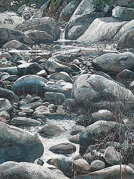 Winter Rocks by Nadi Spencer