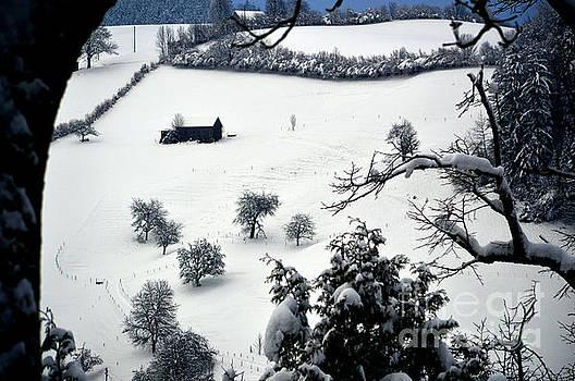 Susanne Van Hulst - Winter Scene in Switzerland
