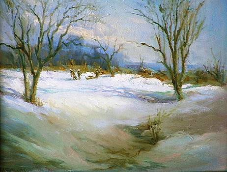 Winter Scene by Michael Chesnakov
