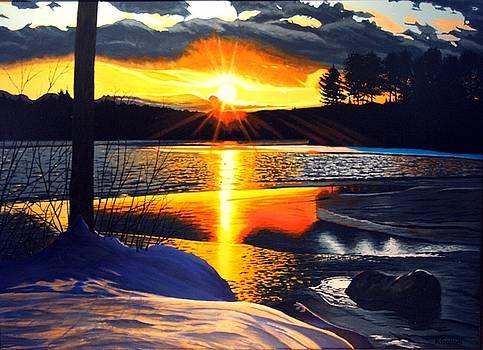 Winter Sparkle by Rick Gallant