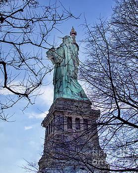 Chuck Kuhn - Winter Statue of Liberty