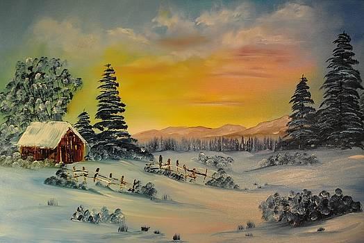 Winter Sunrise by James Higgins