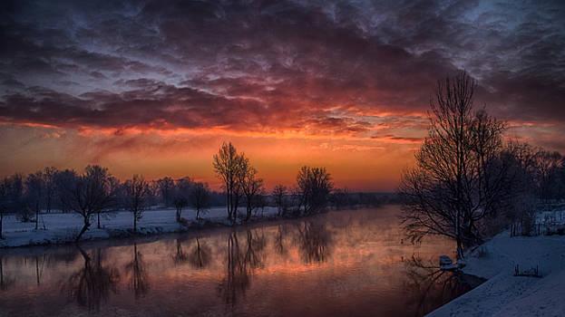 Winter sunrise by Oliver Svob