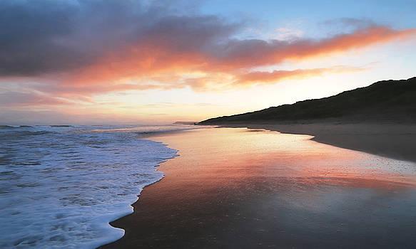 Winter sunrise by Roy McPeak