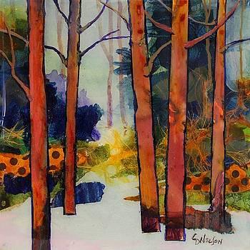 Winter Trail by Carol Nelson