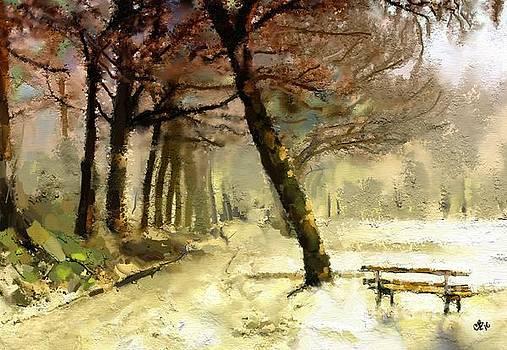 Winter Walk by Carrie Joy Byrnes