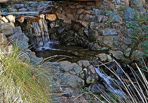 Winter Waterfall by Michele Myers