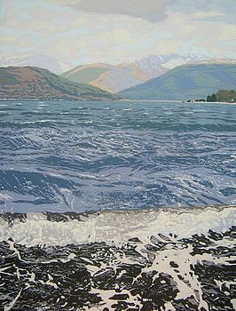 Winter waves by Malcolm Warrilow