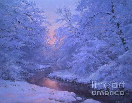 Winter's Dusk  by Hillary Scott