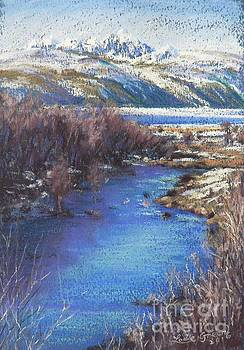 Winter's Edge, Flat Creek Jackson by Louise Green