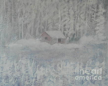 Wintery woodland by Al Hunter
