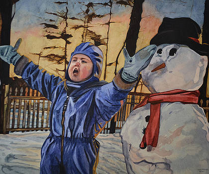 Wintry Pronouncement by Valerie Patterson