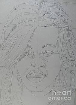 WIP Sketch 1 Model  contest 2 by Pamela  Meredith