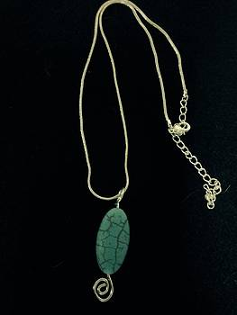 Wire Wrapped Pendant by J Cheyenne Howell