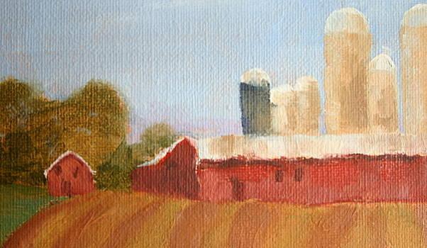 Wisconsin Farmland by Martha Layton Smith