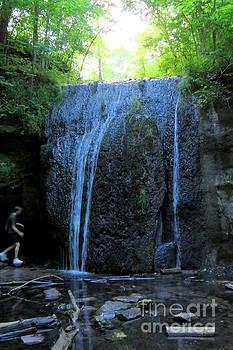Wisconsin Water Fall by Selma Glunn