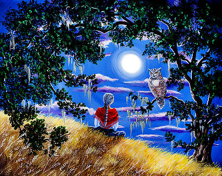Laura Iverson - Wise Woman and Owl Full Moon Meditation
