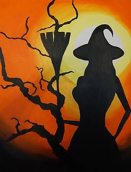 Witch Silhouette by Jared Swanson