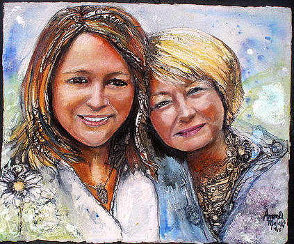 With Child series commission by Anne-D Mejaki - Art About You productions
