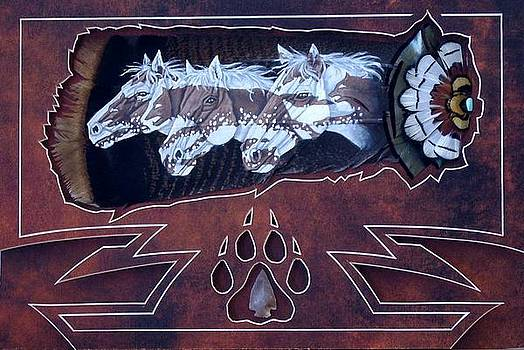 Wolf ponies by Joe Watkins