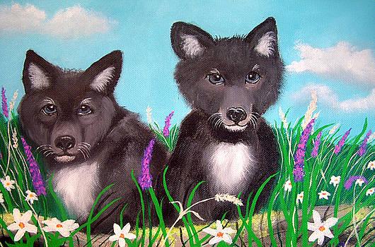 Nick Gustafson - Wolf pups