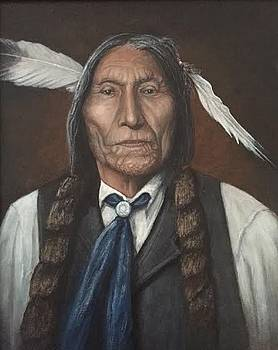 Wolf Robe - Cheyenne by William H RaVell III