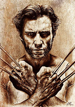 Wolverine sepia mix by Andrew Read