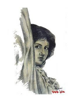 Woman-3 by Adel Jarbou
