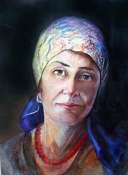 Woman by Ahmad Subaih