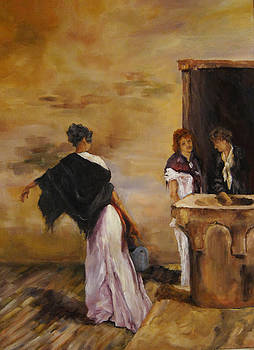 Woman At The Well by Diane Kraudelt