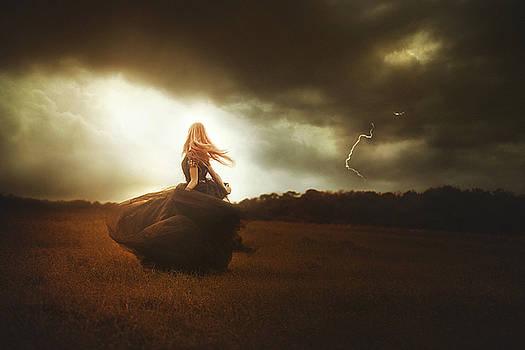 Woman In Black by TJ Drysdale