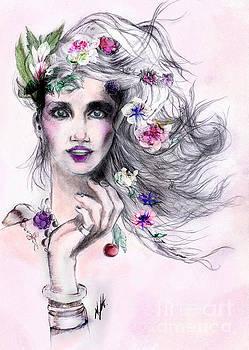 Woman in love by Maria Hakobyan