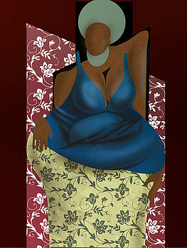 Woman With Afro by David James