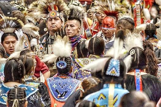 Women and Men Meet by Clarice Lakota