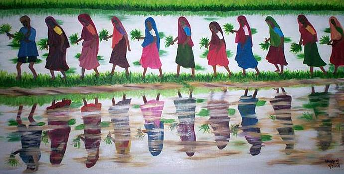 Women force by Usha Rai