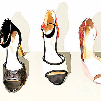 Wingsdomain Art and Photography - Womens High Heel Stiletto Shoes 20160227 square v3