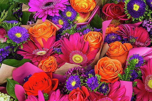 Wonderful Bouquet Of Flowers by Garry Gay