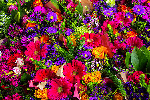 Wonderful Bouquets Of Flowers by Garry Gay