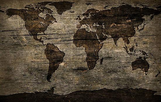 Wood Map by Tylir Wisdom