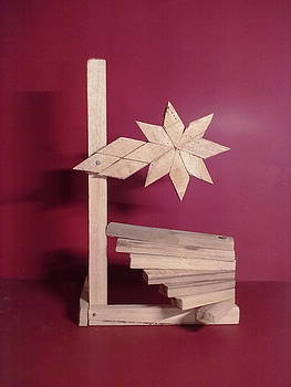 Wooden Flower by Muhammad arif Channa -MAC-
