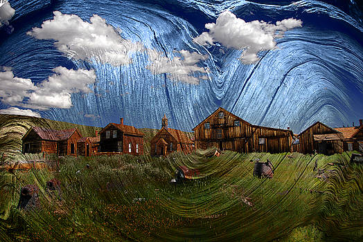 Wooden Ghost Town by Ron Hoggard