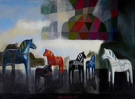 Wooden Horses     by Jukka Nopsanen