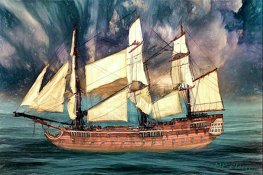 Wooden Ship by Michael Cleere