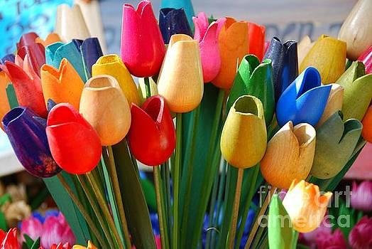 Wooden Tulips by Josephine Benevento-Johnston